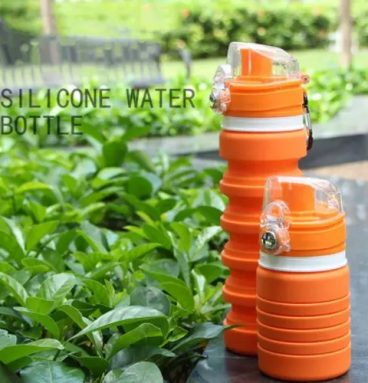 Sports Folding Silicone Water Bottle