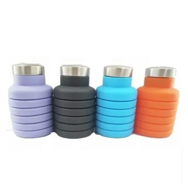 Portable Folding Silicone Water Bottle