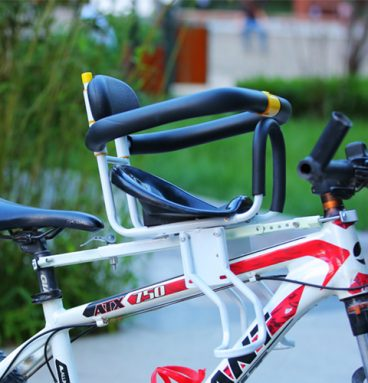 Safety Child Front Bicycle Seat With Pedals