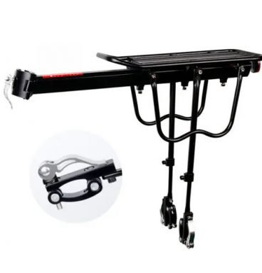 Bicycle Quick Release Shelf