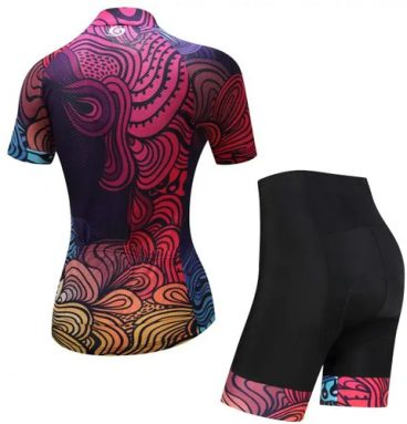 Women's Cycling Short Sleeve Suit